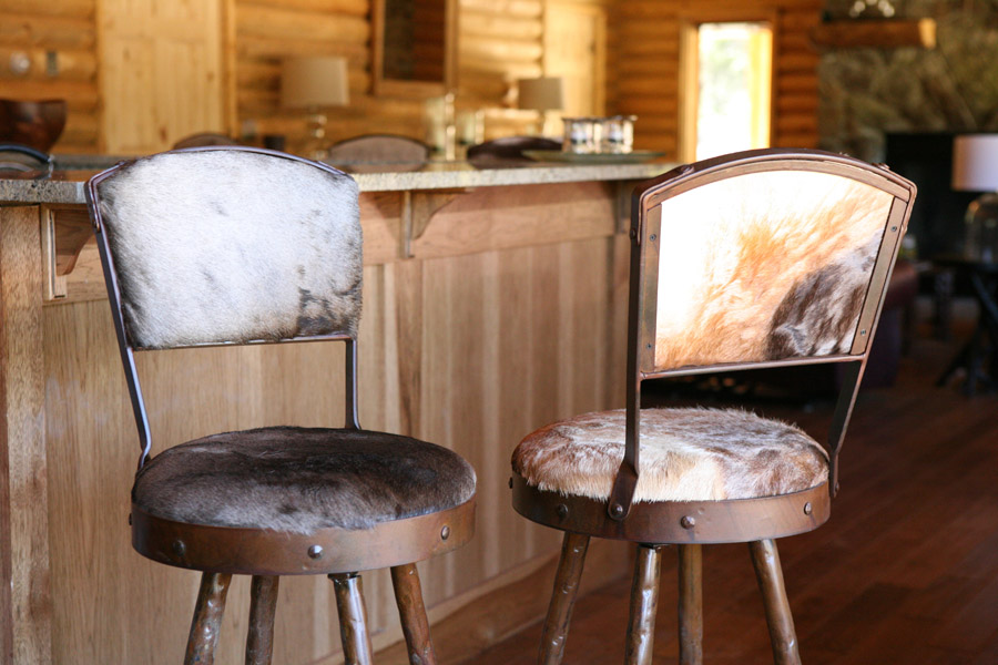 Cloud Peak Bar Chair Frontier Iron Works