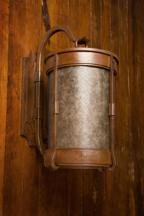 Cylinder Wall Sconce Frontier Iron Works
