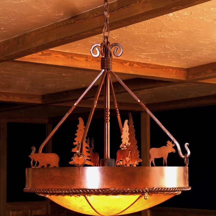 Absaroka chandelier-edited