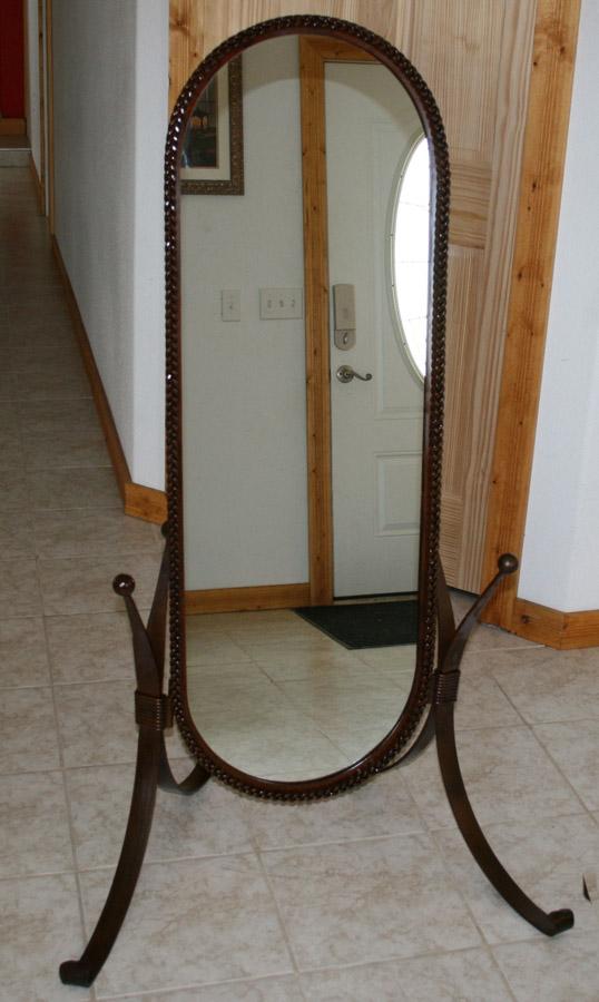 Big Horn Braided Floor Mirror