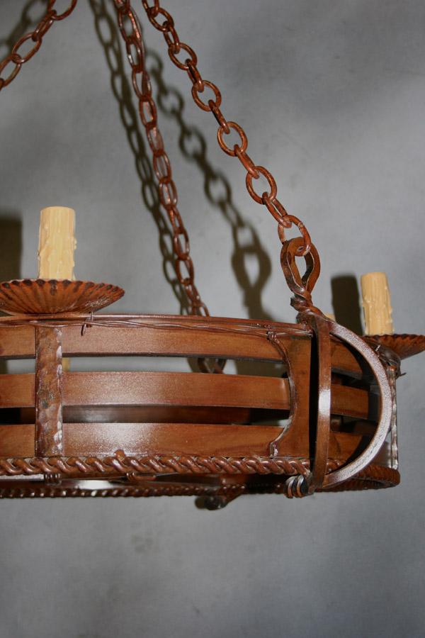 Big Horn Chandelier Frontier Iron Works