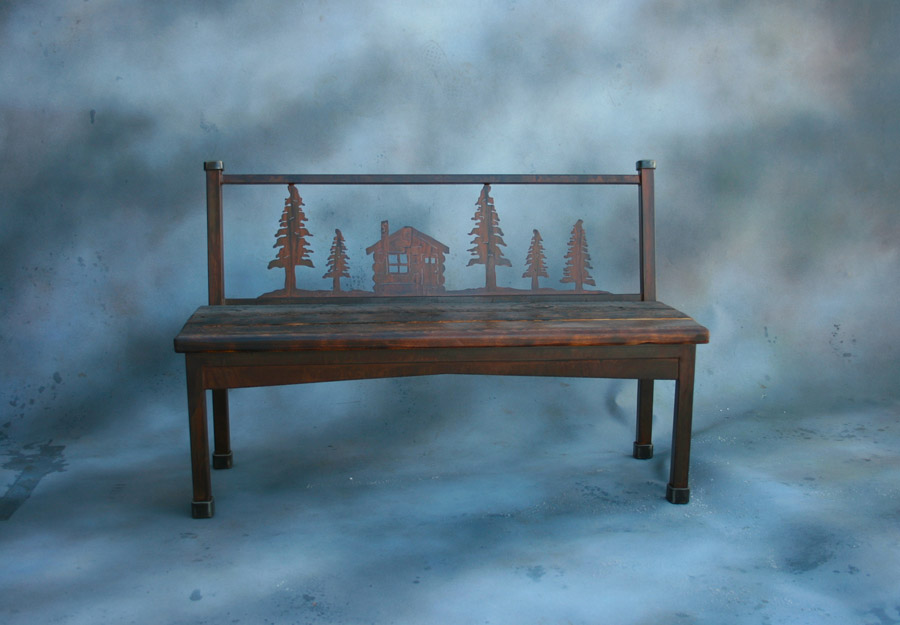 Cabin Bench