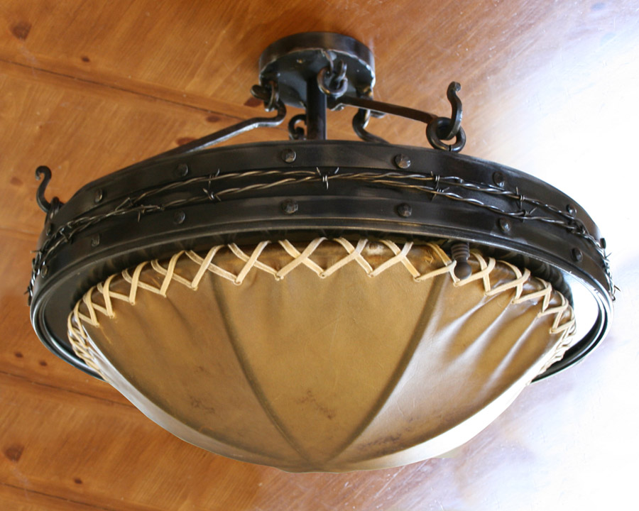 Clear Creek Ceiling Light