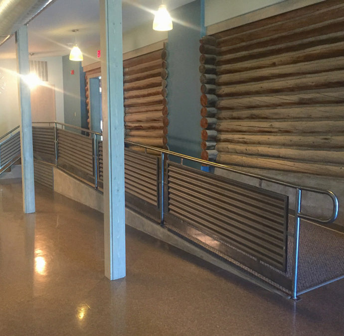 Contemporary Polished Handrail