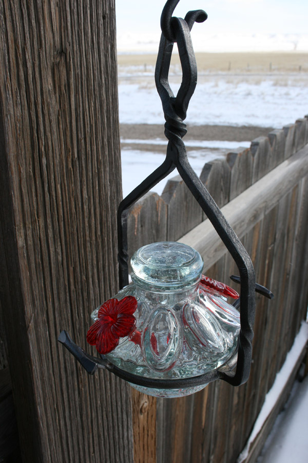 Hummingbird Feeder Frontier Iron Works