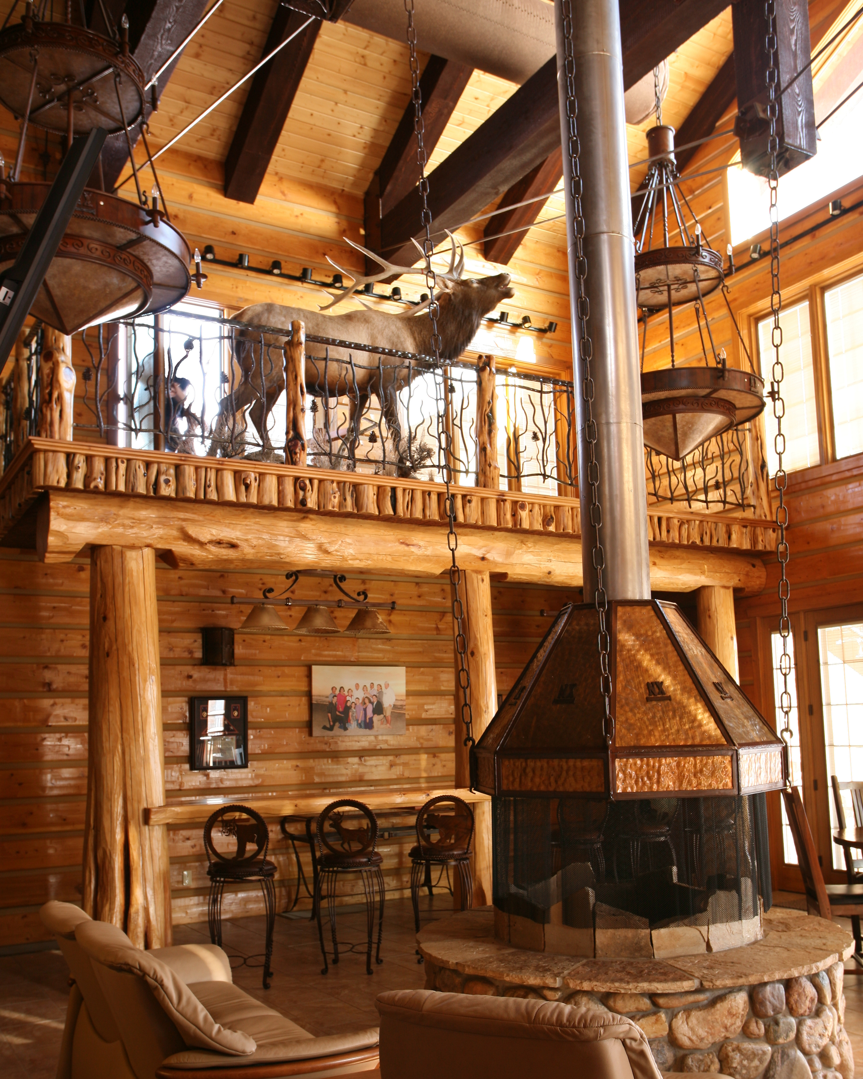 Casa Fireplace Hood Frontier Iron Works
