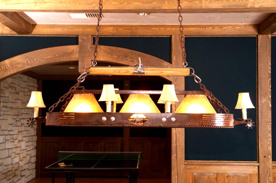 Pony Express Pool Table Light