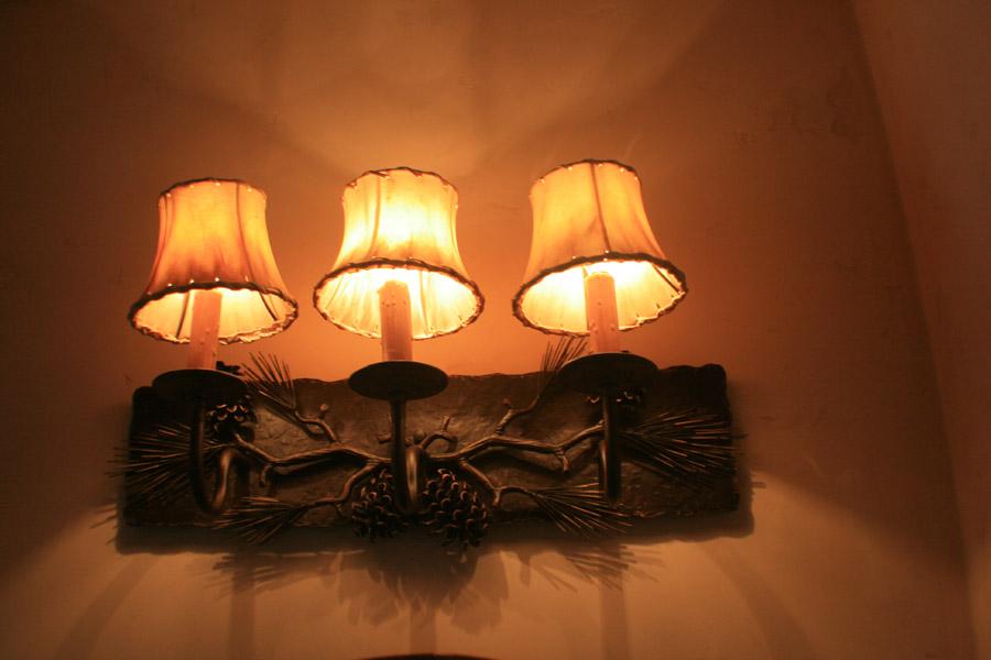 Spruce Vanity Light