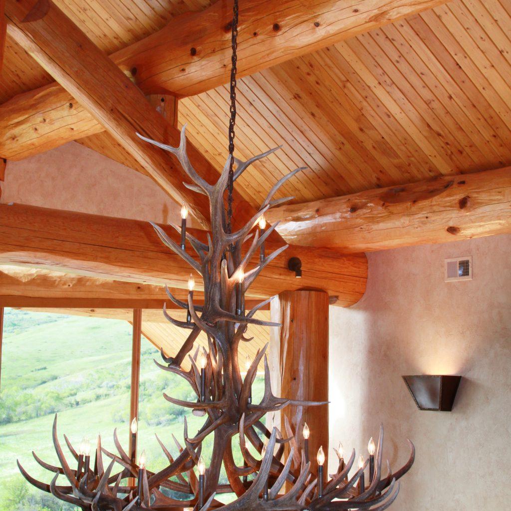 Elk Horn Chandelier