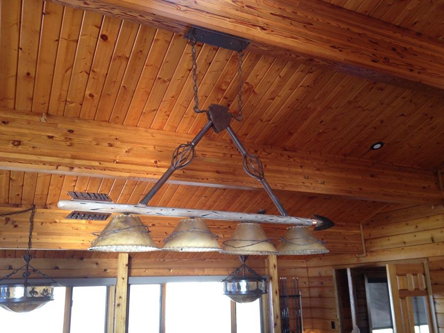 Arrowhead Pool Table Light 3