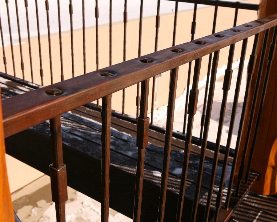 Big Horn Forged Handrail