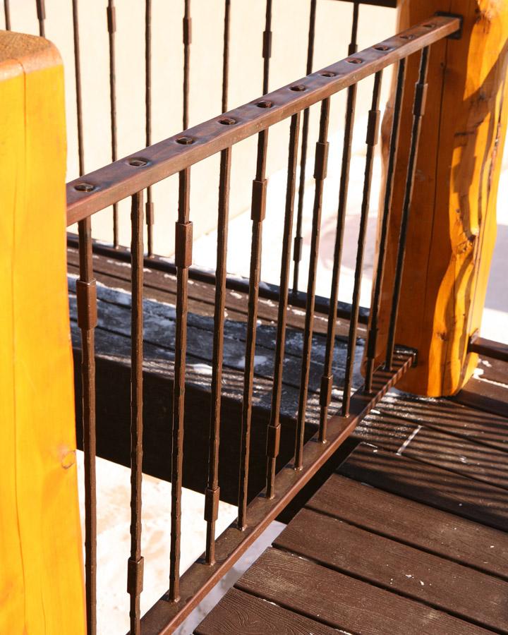 Big Horn Forged Handrail 1