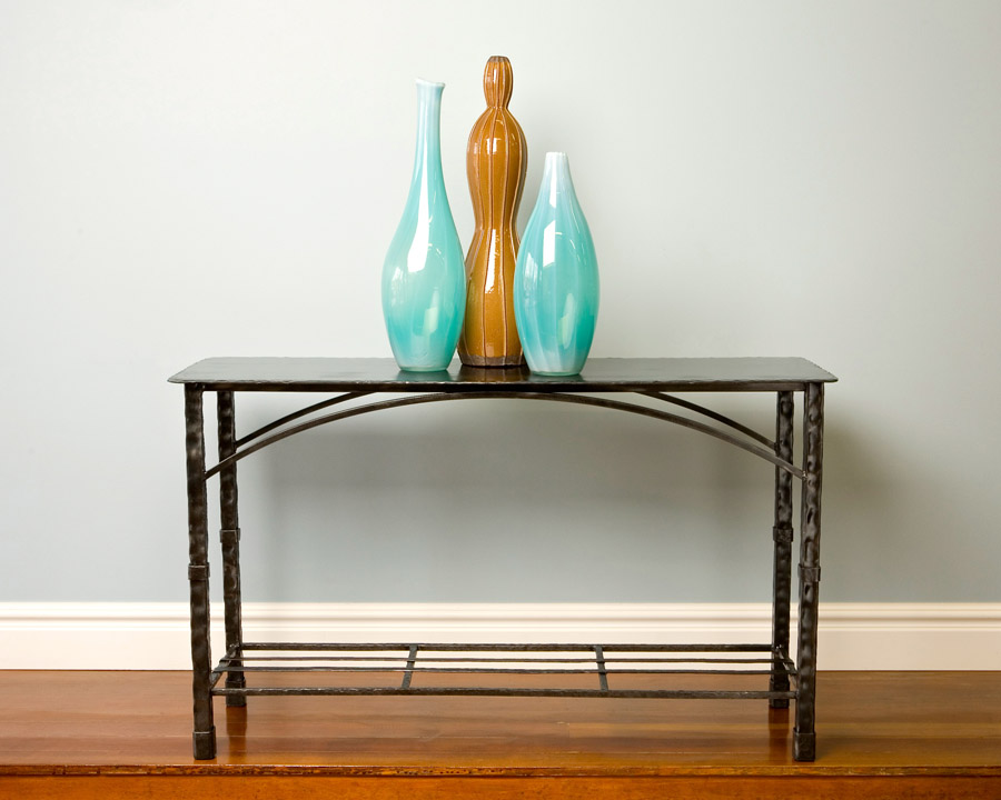 Big Horn Iron Accent Table