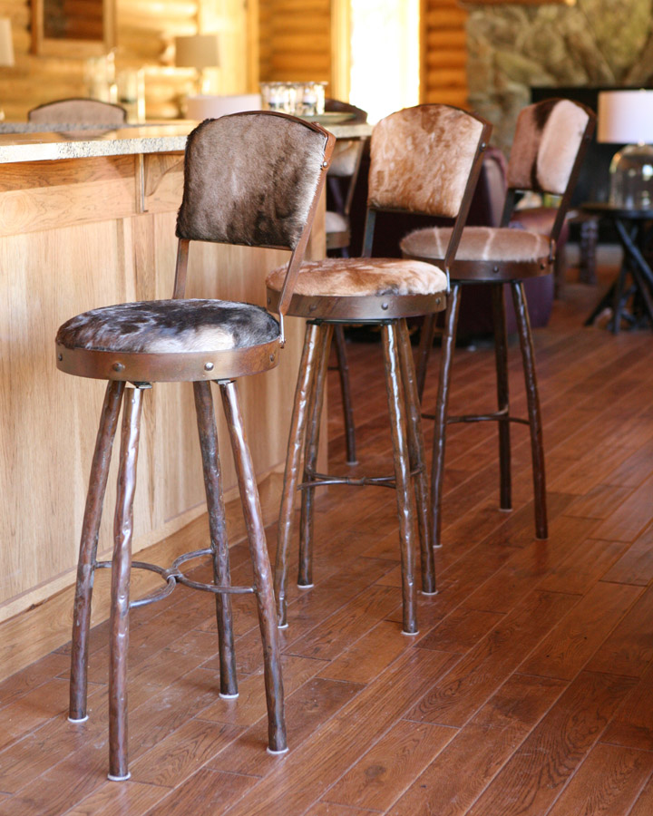 Counter Height Bar Stools With Back Leather