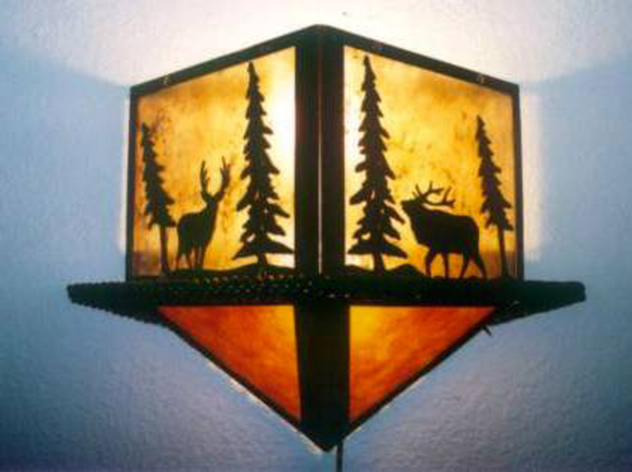 Diamond Wilderness Wall Sconce 1