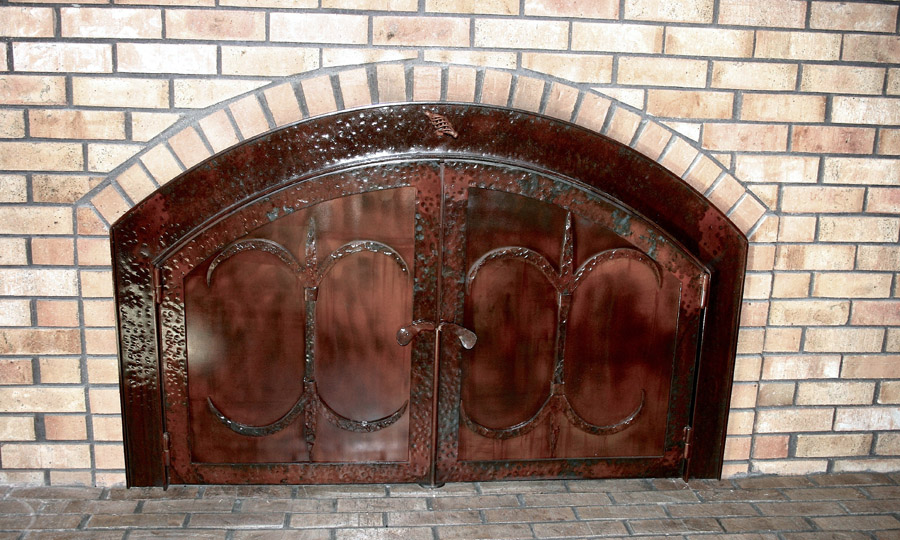 French Creek Fireplace Screen
