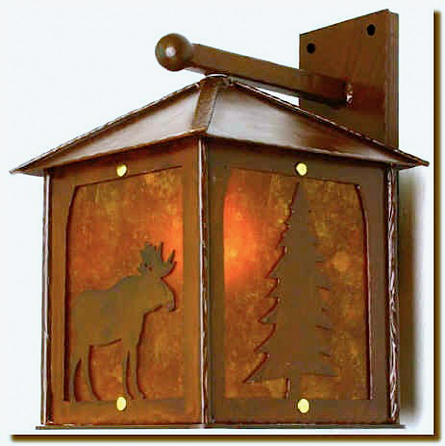 Whispering Woods Wall Sconce