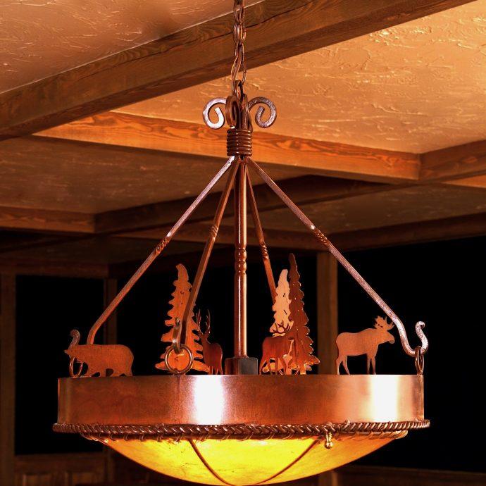 Absaroka chandelier-edited