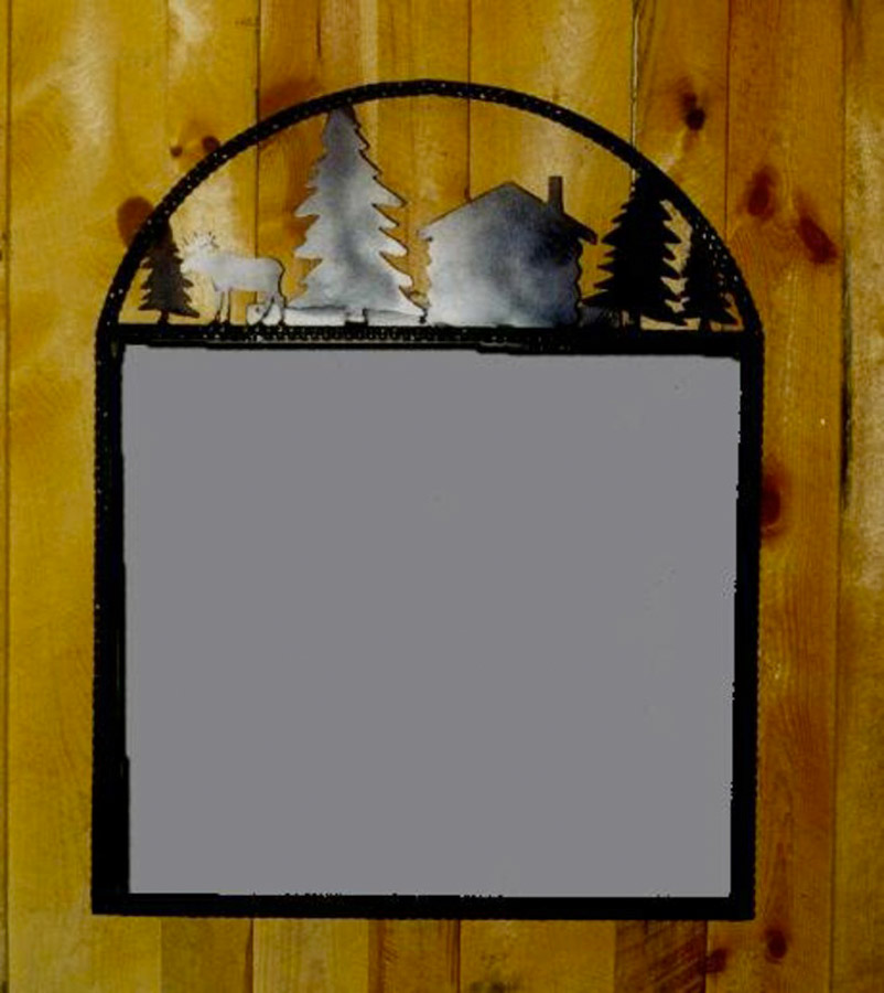 Arched Wilderness Mirror