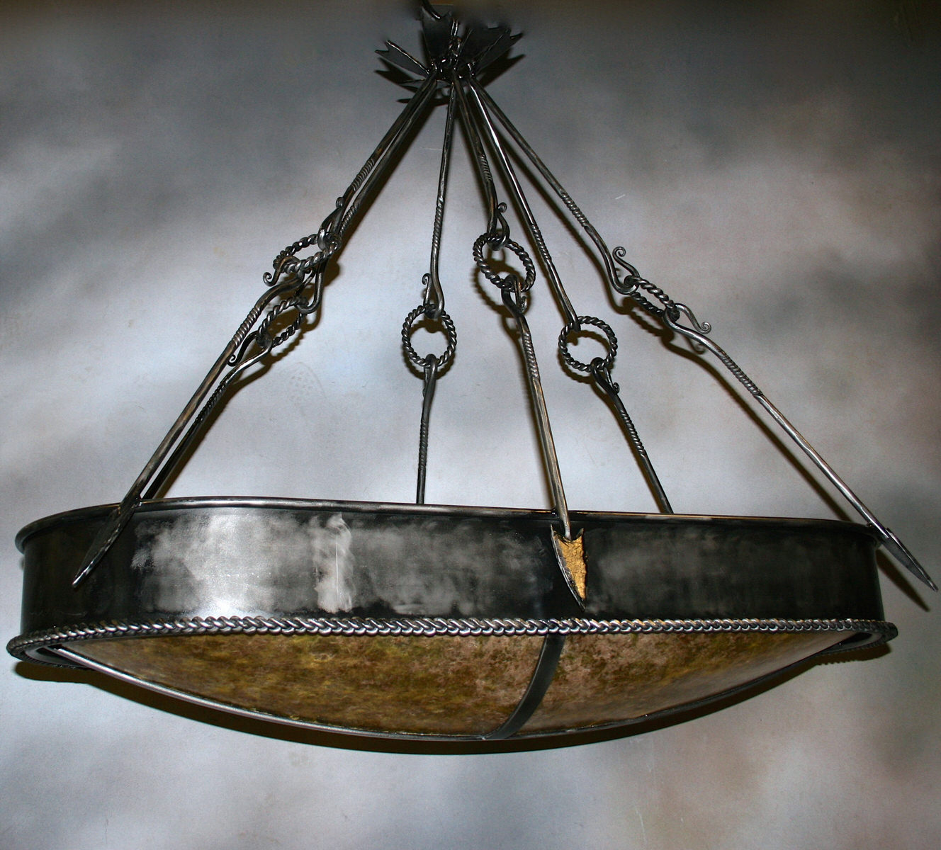 Arrow Oval Chandelier