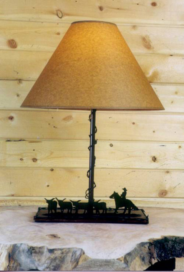 Barbed Wire Lamp