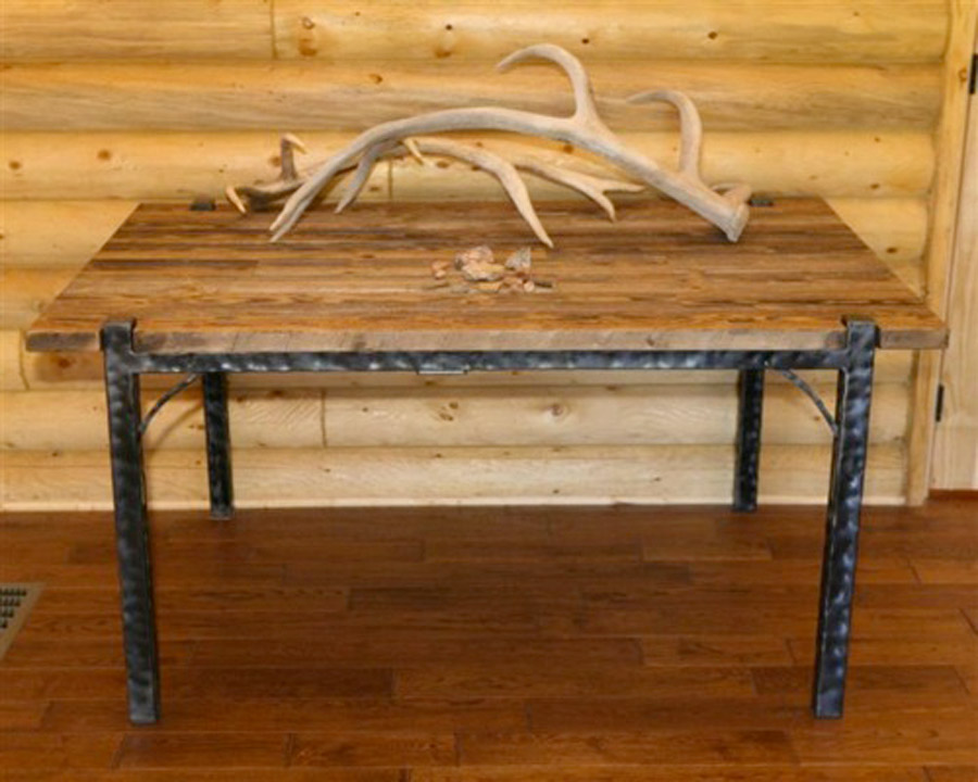 Big Horn Wooden Table