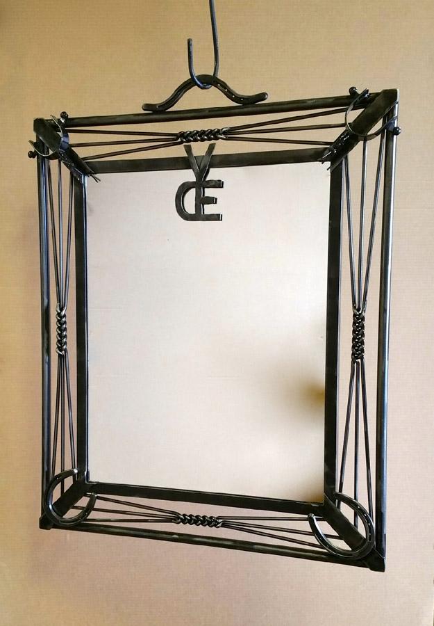 Branding Iron Mirror