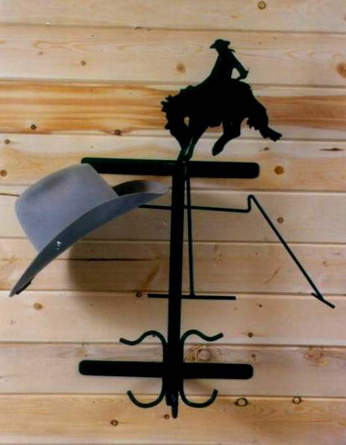 Buckaroo Wall Hat & Coat Rack