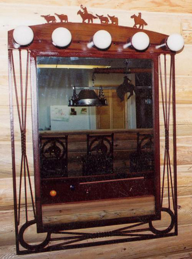 Concho Vanity And Mirror