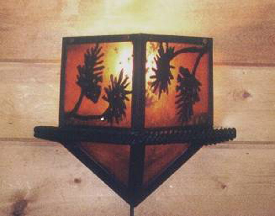 Diamond Wilderness Wall Sconce