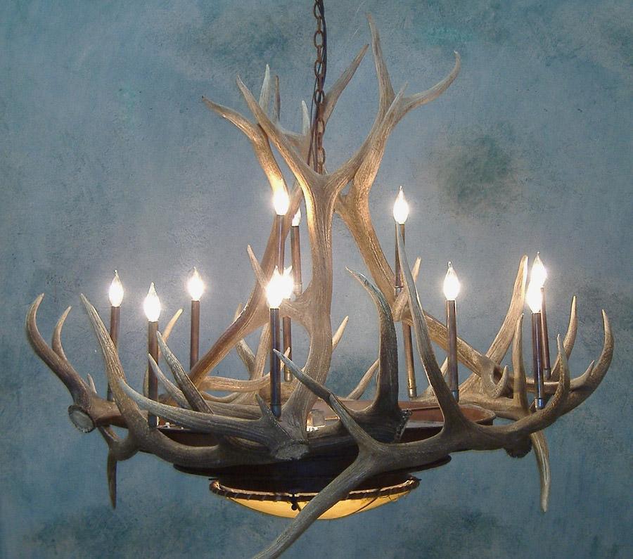 Elk Horn Chandelier 48
