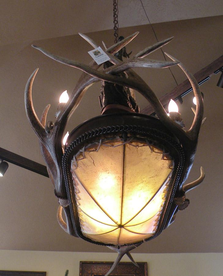 Elk Horn Oval Chandelier