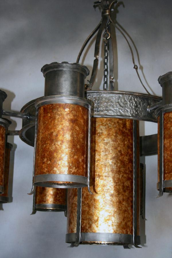 Forge Cylinder Chandelier 2