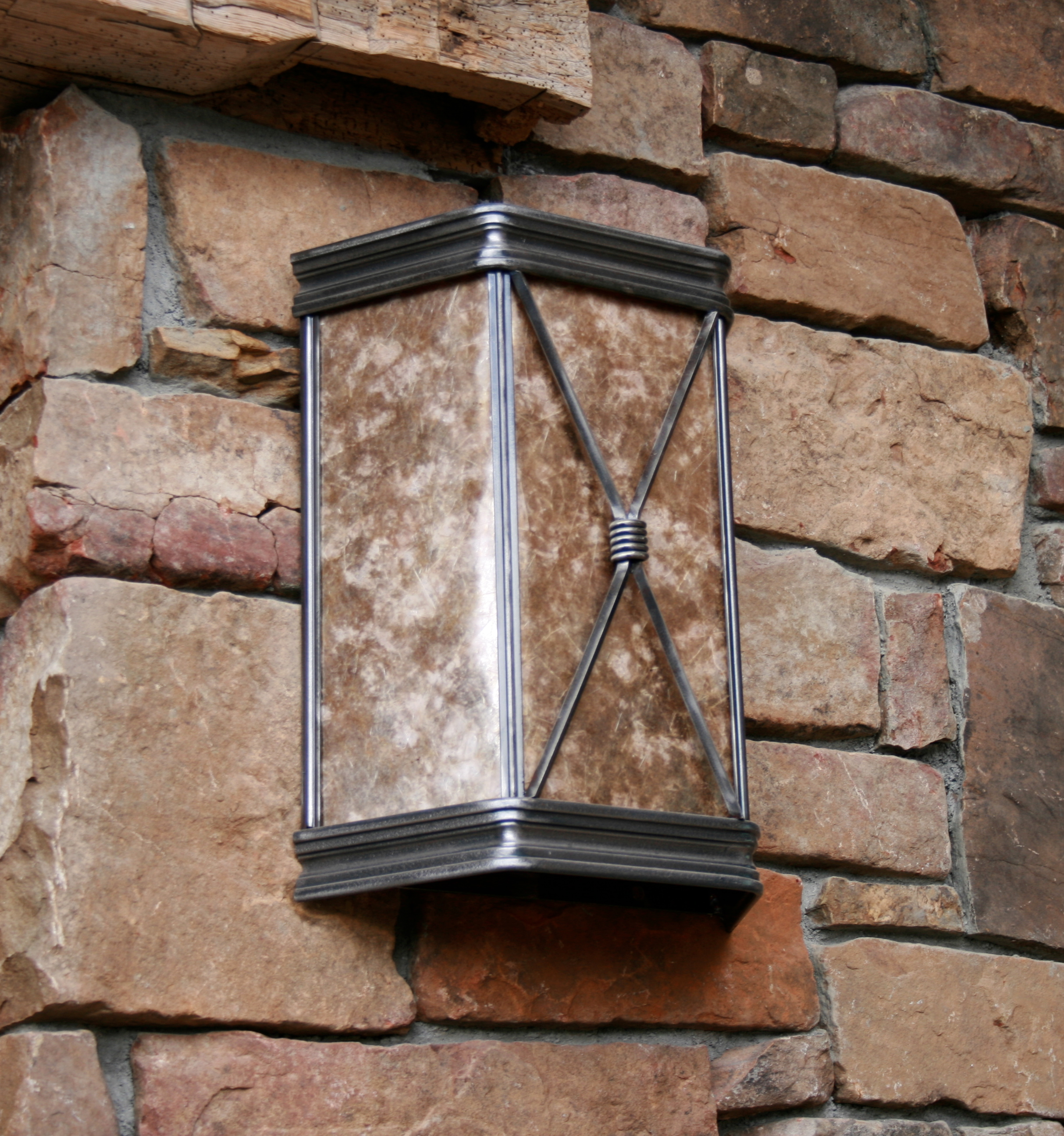 Imperial Trapezoid Wall Sconce