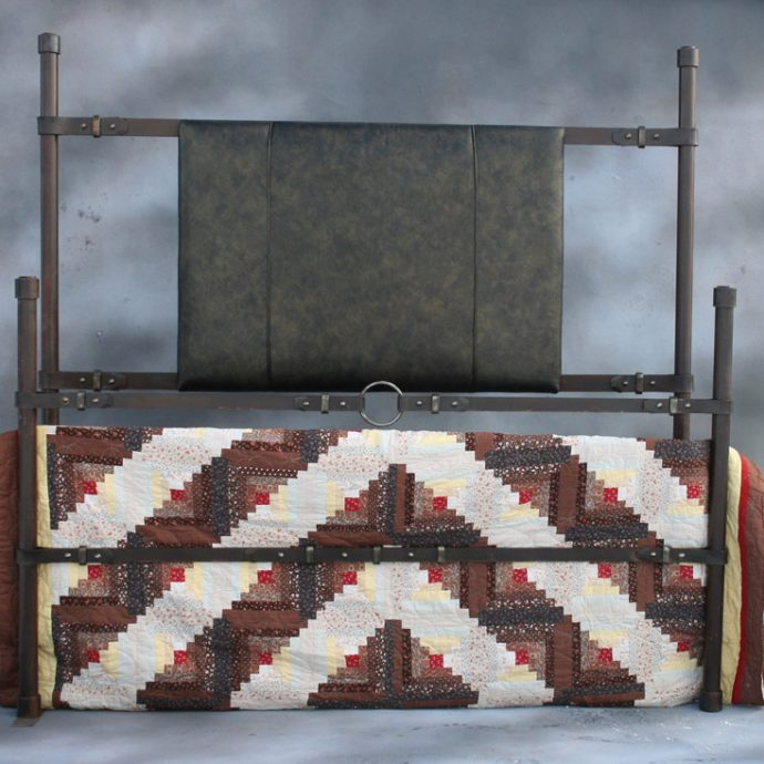Iron Strap Bed