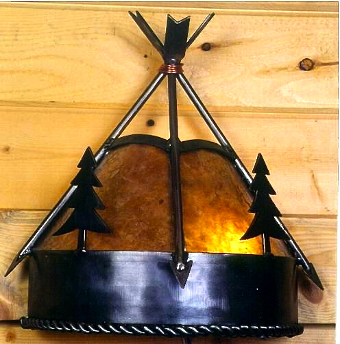 Mountain Woods Wall Sconce