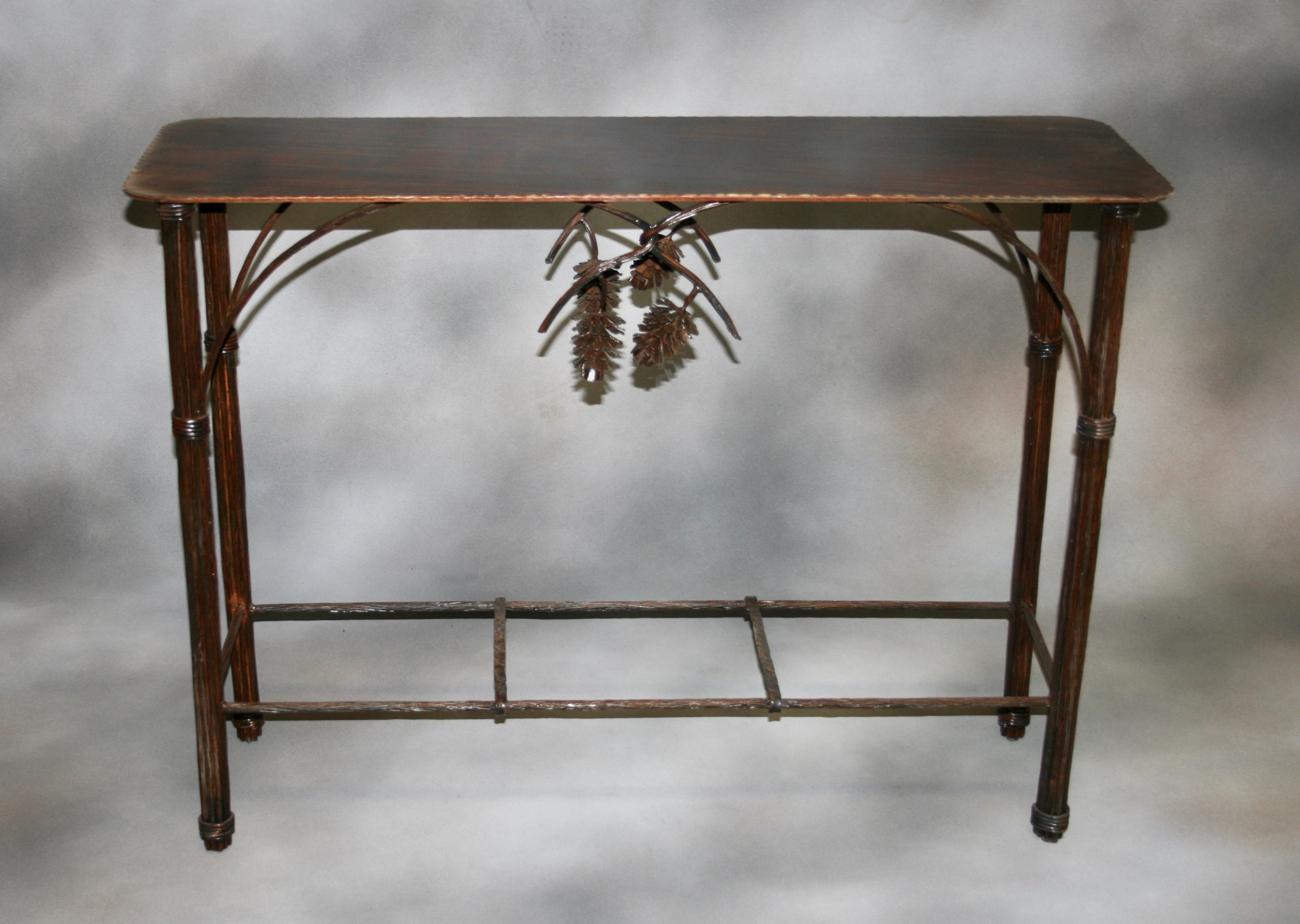 Pine Cone Accent Table 1
