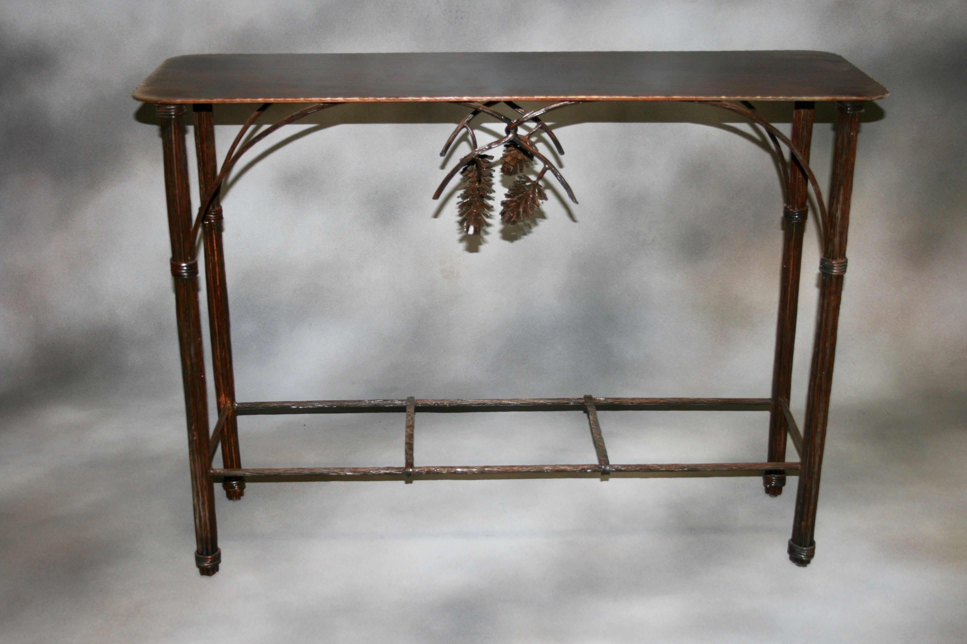 Pine Cone Accent Table