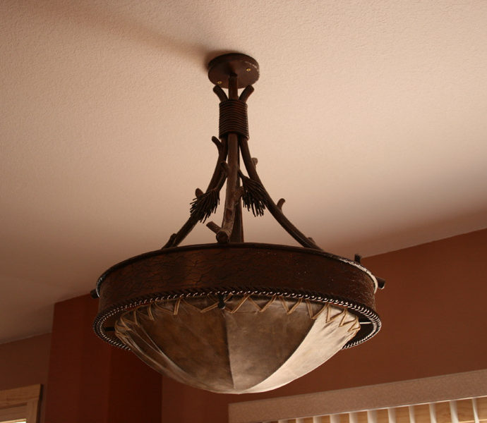 Pine Cone Chandelier