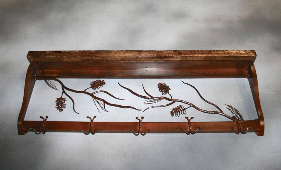 Pine Cone Coat Rack