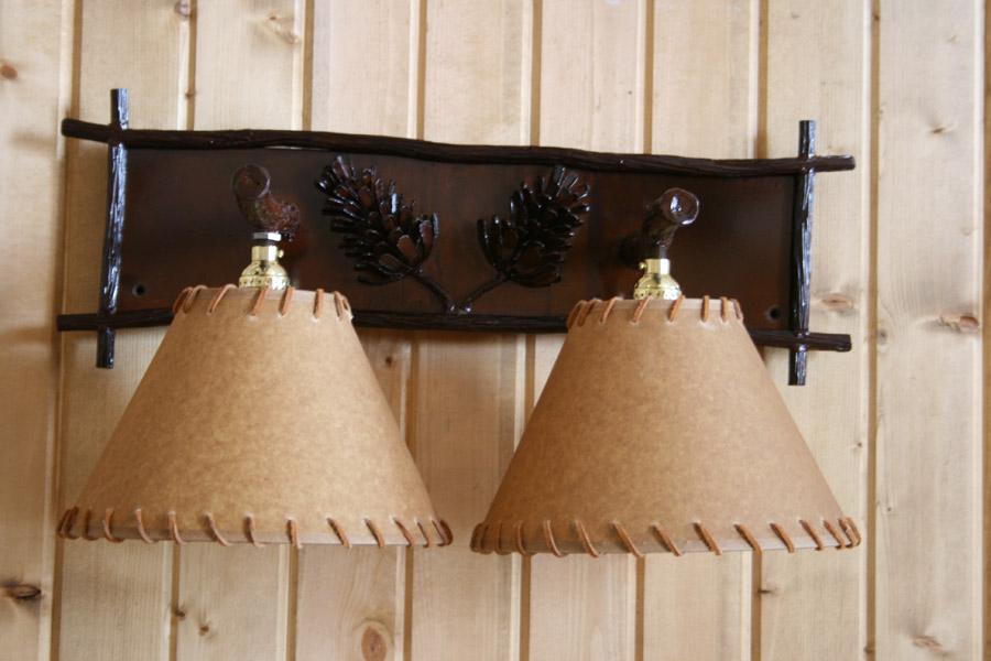 Pine Cone Vanity Light