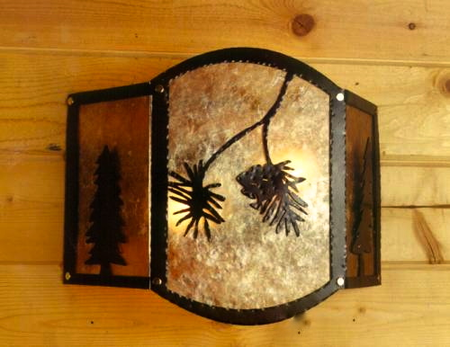 Pine Cone Wall Mount