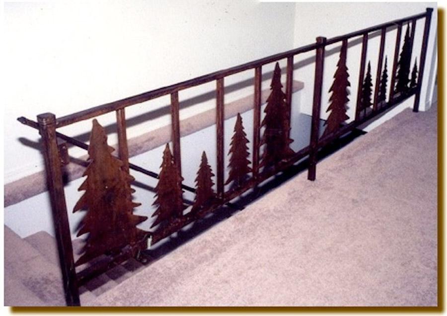 Pine Tree Handrail