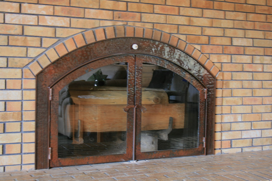 Railroad Fireplace Screen