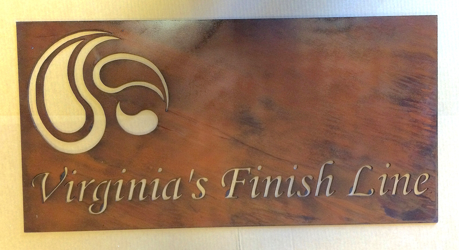 Finish Line Sign