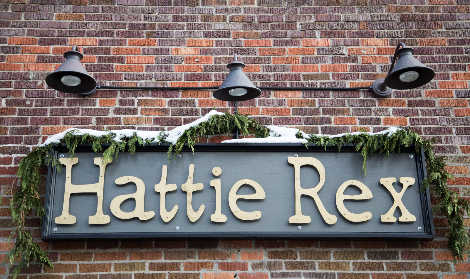 Hattie Rex Sign