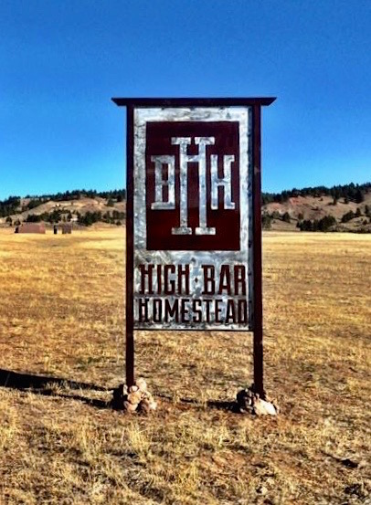 Sign High Bar Homestead Cropped