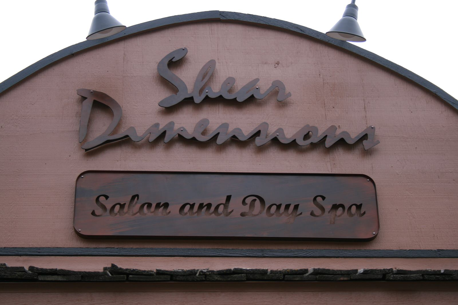 Sheer Dimensions Front Sign Silhouettes