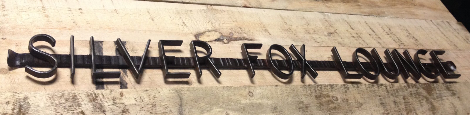 Silver Fox Sign