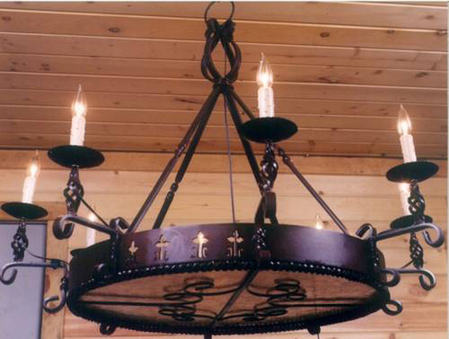 Spanish Colonial Chandelier